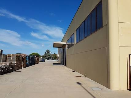 Capannone uso industriale in vendita a Boara Pisani