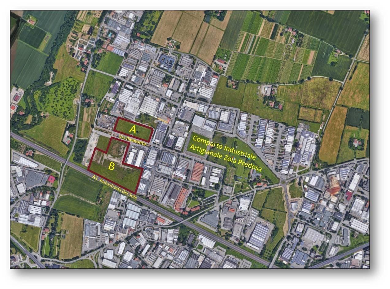 Terreno uso industriale vendita a Zola Predosa