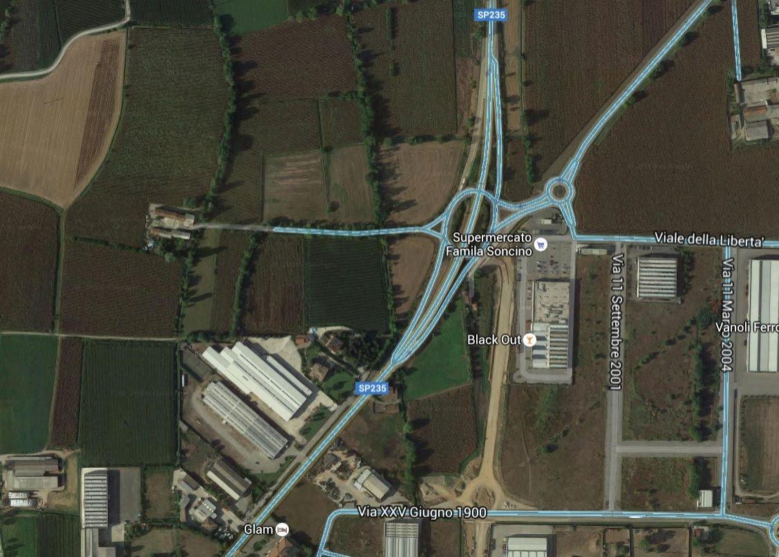 Terreno edificabile uso industriale vendita a Soncino
